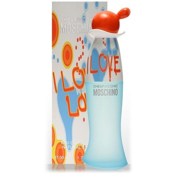 MOSCHINO CHEAP AND CHIC I LOVE LOVE EDT 50 ML