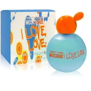 MOSCHINO I LOVE LOVE EDT МИНИАТЮРА 4.9 МЛ