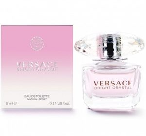 VERSACE BRIGHT CRYSTAL EDT МИНИАТЮРА 5 МЛ